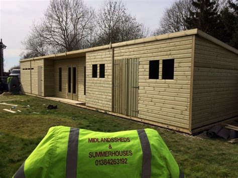 Cave Sheds Sale by 48x10 19mm Ultimate Tanalised Summerhouse Shed