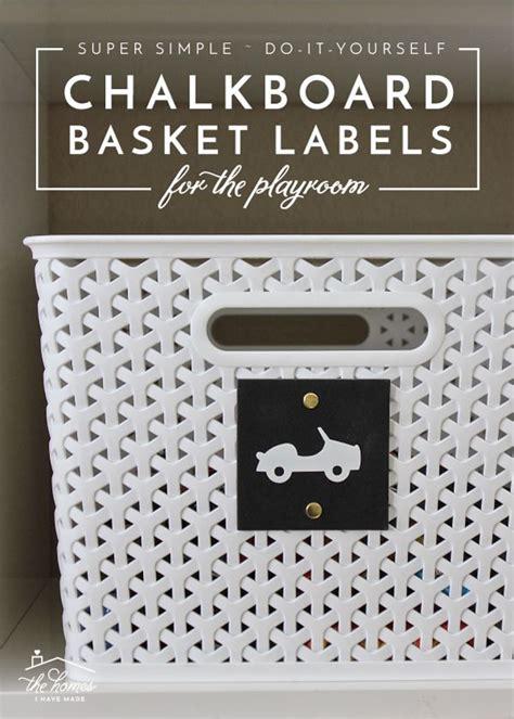 diy chalkboard labels the 25 best basket labels ideas on organize a
