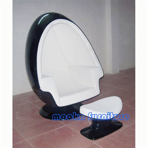 Egg Chair With Speakers by Alpha Egg Chair Ottoman W Speaker Mooka Modern Furniture