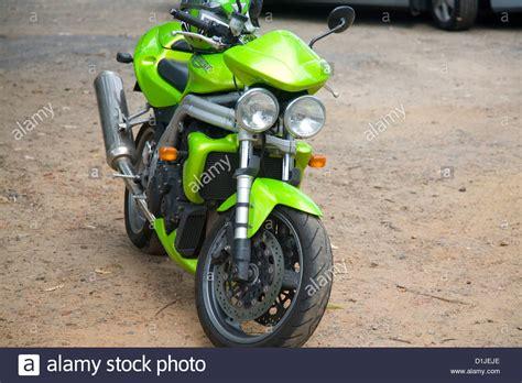 Triumph Motorrad Polen by Triumph Speed Stockfotos Triumph Speed Bilder