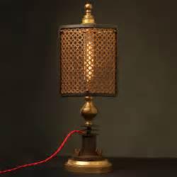 Small Desk Lamp Guard Shield Steampunk Desk Lamp