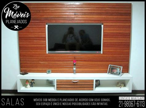 painel tv rack painel home theater moveis planejados