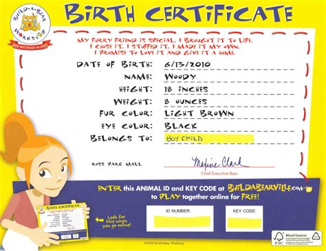 build a birth certificate template 1 just saying reviews giveaways boy child meets