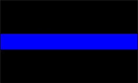 the blueline support the thin blue line