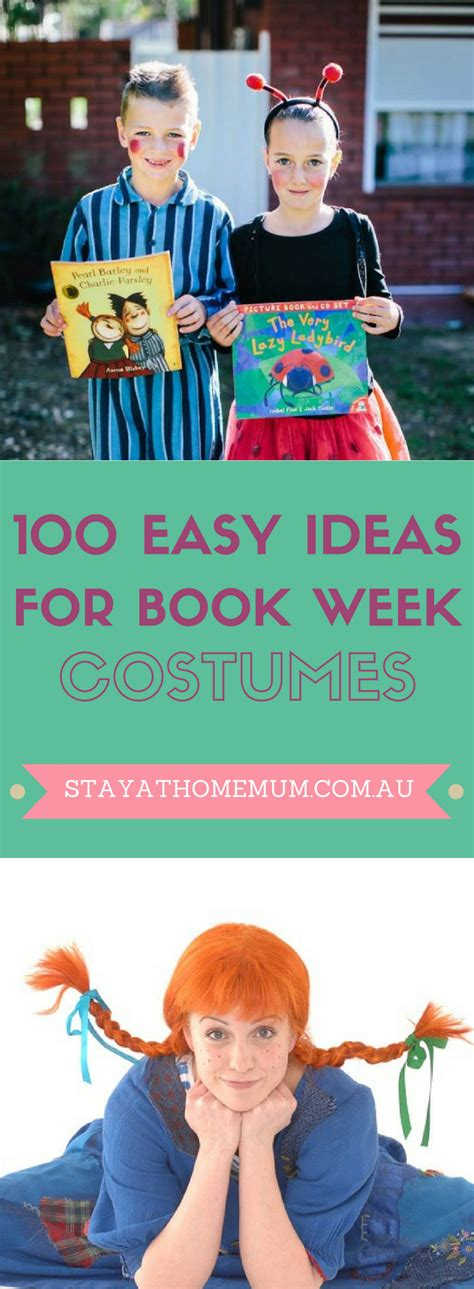easy picture books 100 easy ideas for book week costumes stay at home