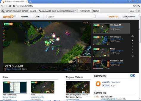 membuat web tv online the homeland tutorial membuat live streaming