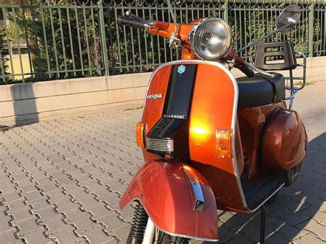 sahibinden  vespa px   km turuncu izmir
