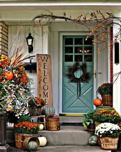 fall patio decor 30 cozy thanksgiving front door d 233 cor ideas digsdigs