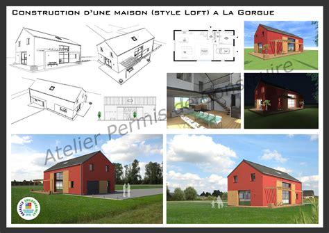 Construction Maison Style Loft 2659 by Construction D Une Maison Style Loft 224 La Gorgue