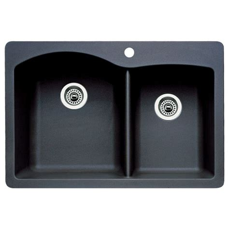 Blanco Black Granite Sink by Granite Composite Kitchen Sinks Feel The Home