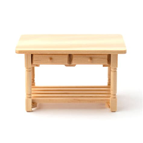 Kitchen Table With Drawer by E3262 Kitchen Table With Drawers L Dolls House Superstore