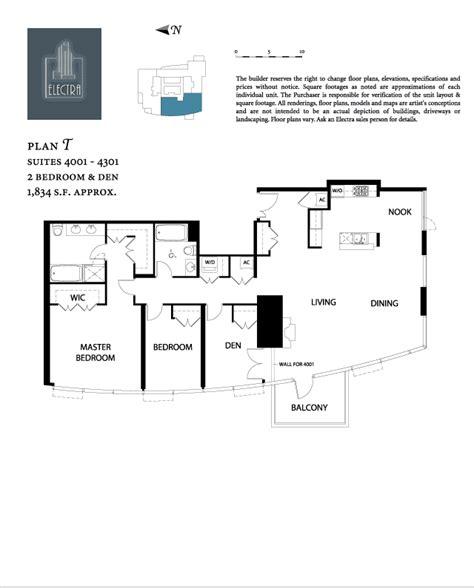 Metropolitan Condo Floor Plan Electra Floor Plan T