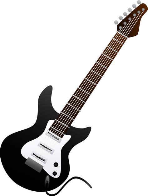 Guitar Black black electric guitar design free clip