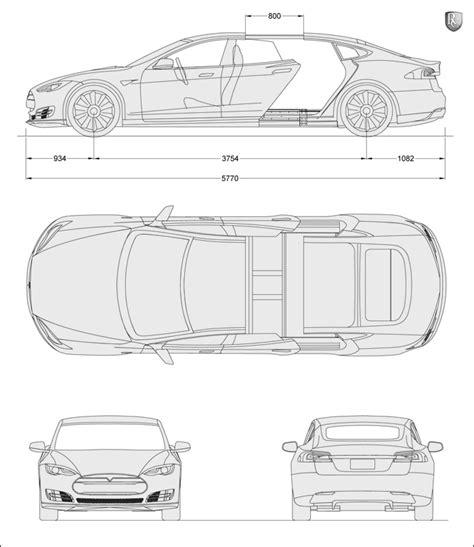 Tesla Dimensions Tesla Model S Dimensions Tesla Image