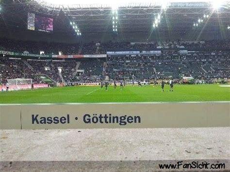 Audi M Nchengladbach by Neutraler Bereich Borussia Park Fansicht Dein Blick