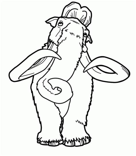 ice age coloring pages coloringpagesabc com