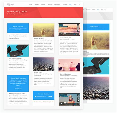 divi theme blog posts divi 2 0 has arrived giving countless possibilities a