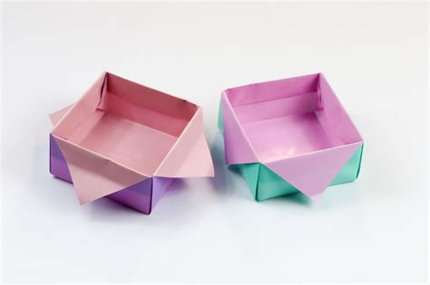 Origami One - origami masu box step by step