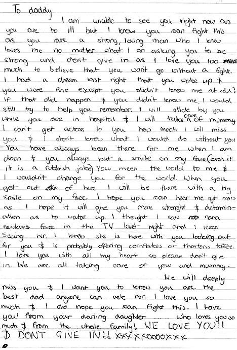 dad writes touching letter to daughter with down syndrome teenagers on trial for murder of father beaten to death on