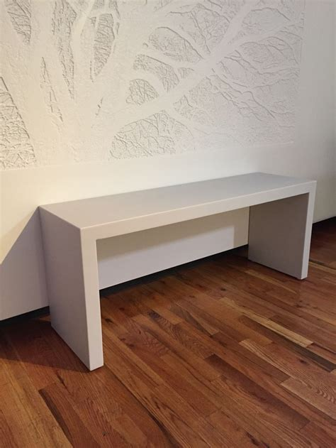 corian bench futrus corridor bench in corian solid surface pearl gray