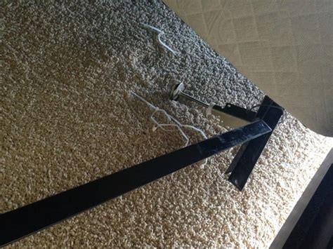 broken bed frame the broken bed frame and zip ties they previously used
