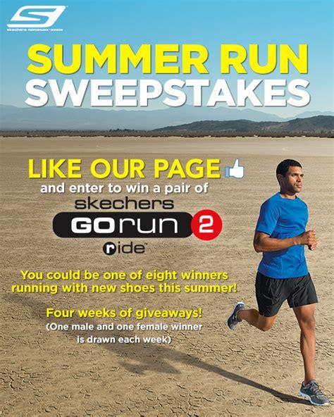 Running Sweepstakes - skechers summer run sweepstakes