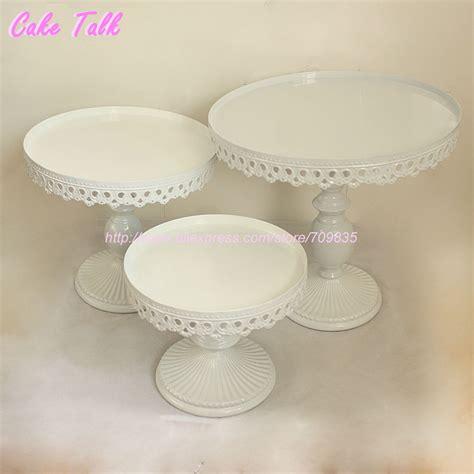 set   white wedding cake stand party decorator cupcake