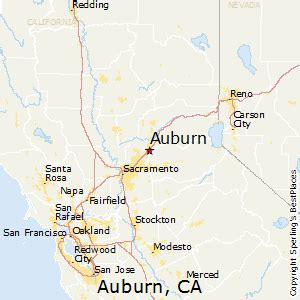 auburn california map best places to live in auburn california
