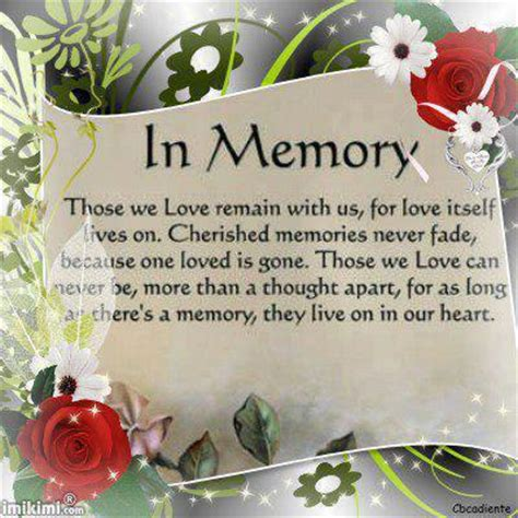 In Memory Birthday Quotes In Memory Of Birthday Quotes Quotesgram
