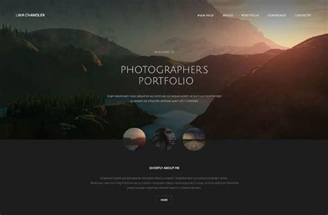36 Portfolio Website Themes Templates Free Premium Templates Photography Website Templates