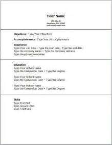Format Student Resume by Doc 756977 High School Student Resume Format With No