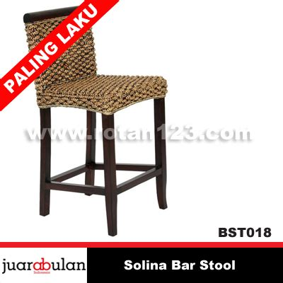Kursi Rotan Cafe harga jual solina bar stool kursi bar rotan alami model