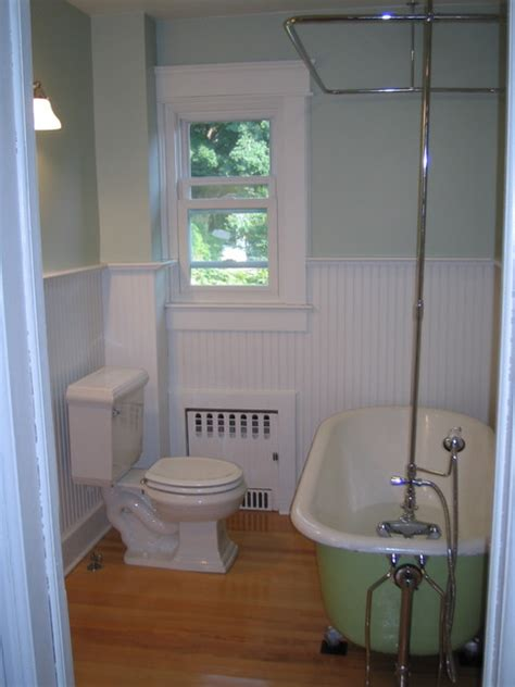 redone bathrooms bathroom redone in foursquare 1915 home craftsman bathroom new york by cherry