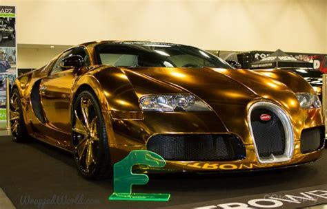flo rida s bugatti veyron goes gaudy with a gold chrome