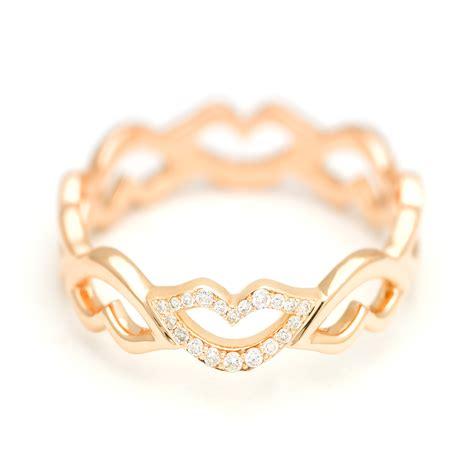 Keep Smiling White raphaele canot keep smiling ring white gold diamonds copy