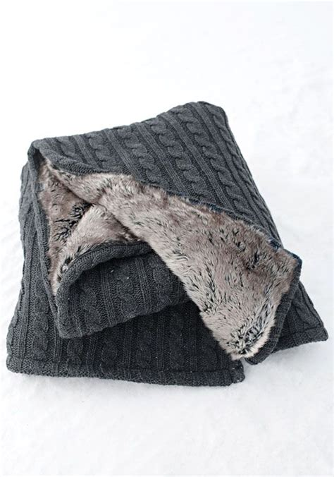grey cable knit throw blanket grey cable knit chinchilla faux fur throw blanket