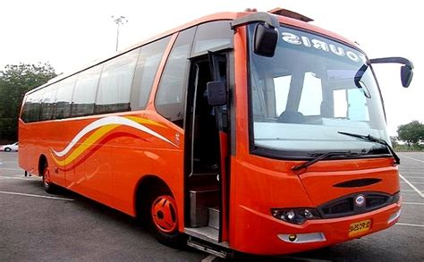 seater big bus hire delhi big coach booking india bus rental