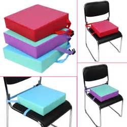 Dining Chair Seat Pad Children Toddler Increased High Chair Seat Pad Safe Booster Dining Cushion Ebay