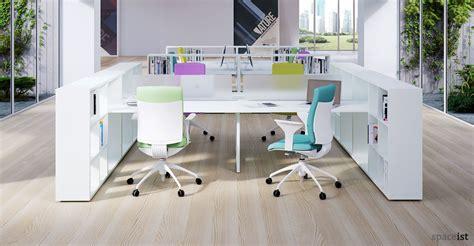 four person office desk office desks frame storage desk 4 person
