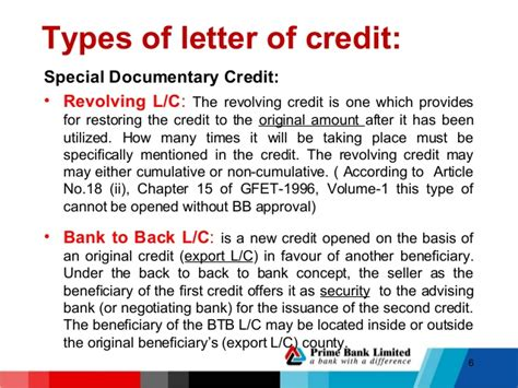 Prime Bank Letter Of Credit Lc Procedure Hrtdc 1