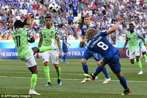 world cup 2018 nigeria vs iceland live score