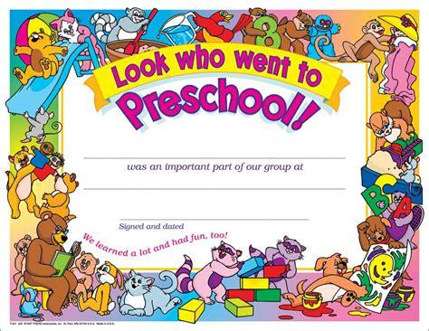 pre k award certificate templates diploma preschool diploma template