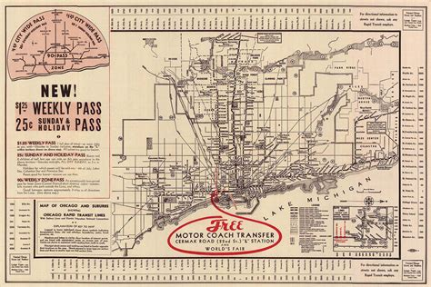 chicago map 1900 chicago l org system maps route maps