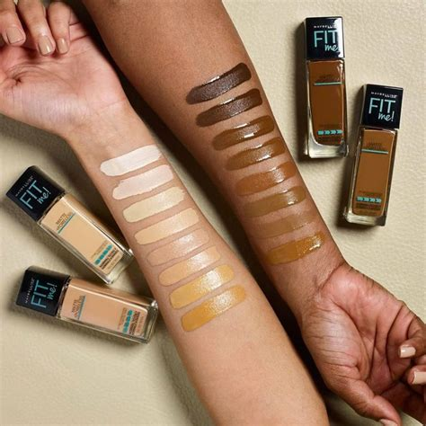 Maybelline Fit Me Matte And Poreless maybelline new york expands shade range of fit me matte