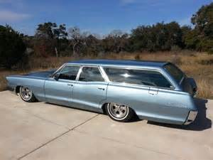 1965 Pontiac Bonneville Station Wagon 1965 Pontiac Wagon Bagged Roof Wagons