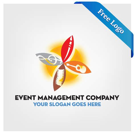 design event company free vector event management company logo download in ai