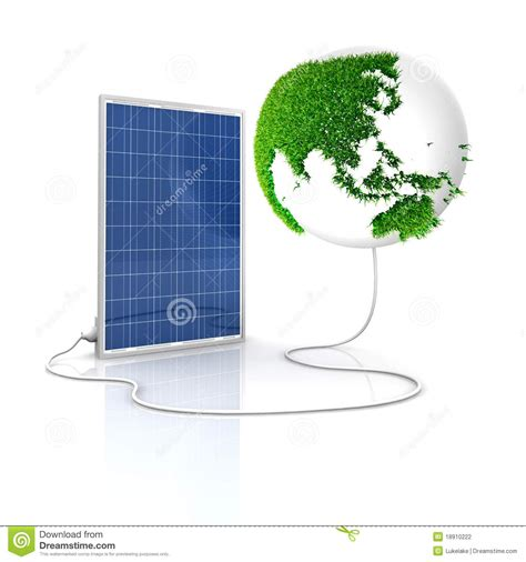 solar panel for green and renewable energy stock