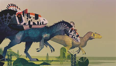 Planet Dinosaur lonely planet dinosaur atlas on behance