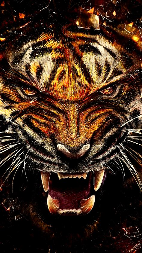 wallpaper iphone 6 tiger wild tiger hd wallpaper for your mobile phone