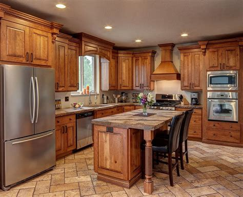 Kitchen Wood Cabinet Light Cherry Cabinets Kitchen Pictures